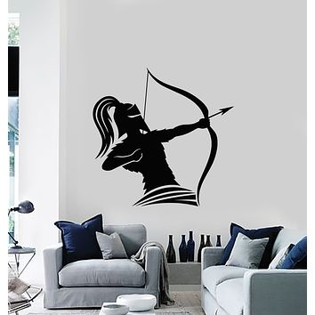 Vinyl Wall Decal Ancient Greece Warrior Weapon Helmet Soldier Stickers Mural (g1273)