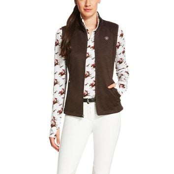 Ariat Ladies Conquest Vest - Ganache