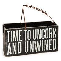 Primitives by Kathy 'Uncork & Unwined' Wine Caddy