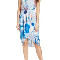Chelsea28 | Print Faux Wrap Dress | Nordstrom Rack