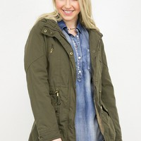 Wilderness Sherpa Lined Utility Jacket