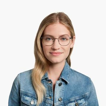 Nesbit Eyeglasses in Heritage Bronze for Women | Warby Parker