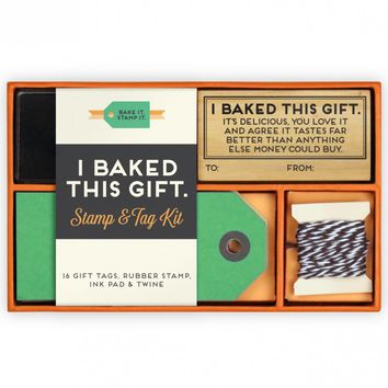 I Baked This Gift Stamp And Tag Kit