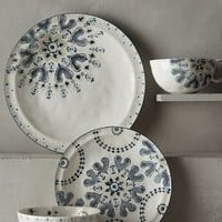 Fandoline Dinner Plate by Anthropologie in Neutral Size: Dinner Plate Dinnerware
