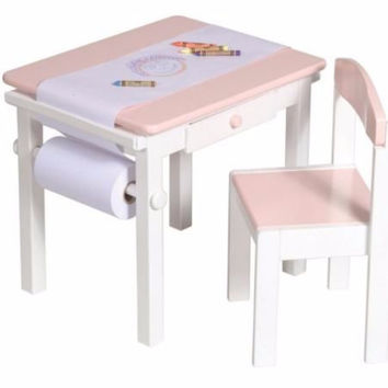 Guidecraft - Art Table & Chair Set