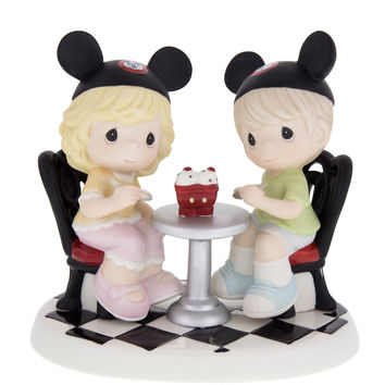 Disney Walt Disney World Boy and Girl Figure by Precious Moments New with Box