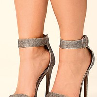 At First Glance Heels: Antique Gold