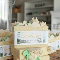 White Gardenia - Handcrafted Soap Bar
