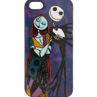 The Nightmare Before Christmas Jack & Sally iPhone 5 Case