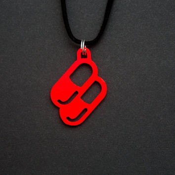 Buy (RED) Pill Necklace