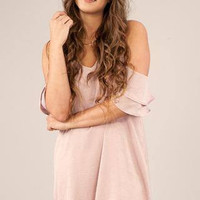 Warm Heart Cold Shoulder Dress