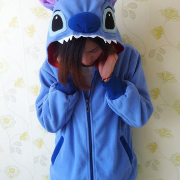 Lilo and Stitch Hoodie with Ears