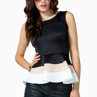Block Party Peplum