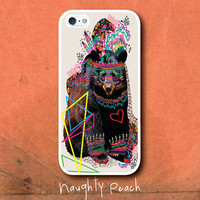 iPhone 5 Casen- Hippie Bear