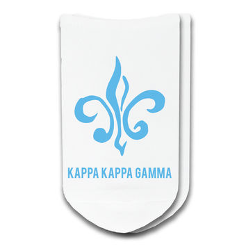 Kappa Kappa Gamma - Sorority Icon No-Show Socks