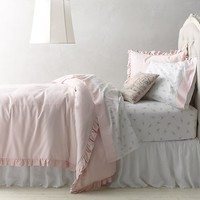 Washed Velvet & European Vintage Ballerina Bedding Collection