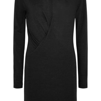Étoile Isabel Marant - Wilder ruched slub jersey mini dress