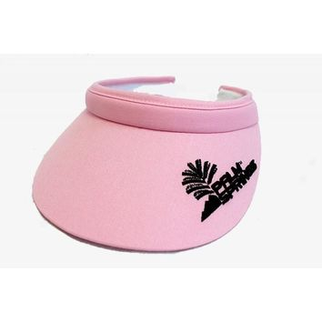 Palm Springs Golf Lady Soft Clip Visors