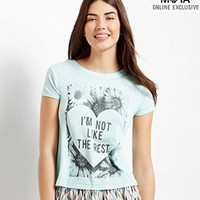 Aeropostale Women's Like The Rest Graphic T Shirt