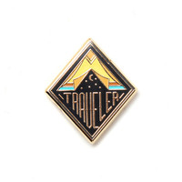 Traveler Lapel Pin
