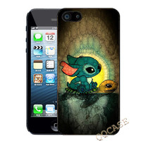 IPhone 5c case IPhone 5s case IPhone 5 case IPhone 4 case Stitch and Turtle Hard case Rubber case iphone 4 case iphone 5 cover
