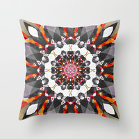 KLESHA  Throw Pillow by Chrisb Marquez