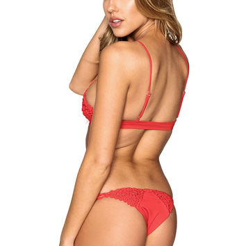 Frankies Bikini Stella Bottom - Red