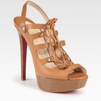 DCCK christian louboutin, Gladiator Hall Ball, Tan
