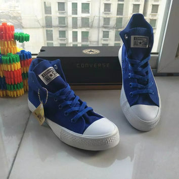 """Converse"" Second Generation All-match Fashion High Help Shoes Male Female Casual Straps Canvas Shoes Cloth Shoes Plate Shoes"