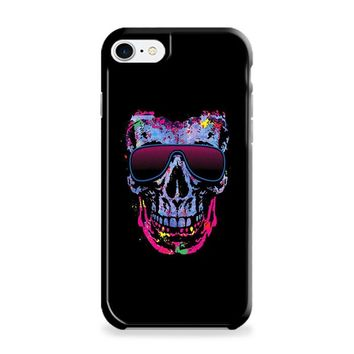 Neon Skull with Glasses iPhone 6 | iPhone 6S Case