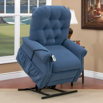 MedLift Extra Wide Power Lift Chair Recliner 2 Way Recline 2555W Great Fabrics
