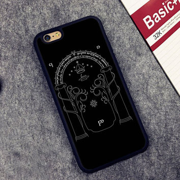 The Lord of the Rings Printed Soft Rubber Mobile Phone Case Accessories For iPhone 6 6S Plus 7 7Plus 5 5S 5C SE 4 4S Cover Shell