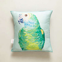Anthropologie - Parrot Pillow