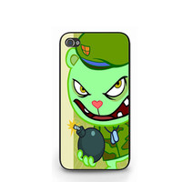 Happy Tree Friends Flippy Cartoon iPhone 4 4S / iPhone 5 Case Cover