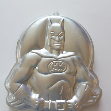 Vintage Batman Wilton Cake Pan  1989
