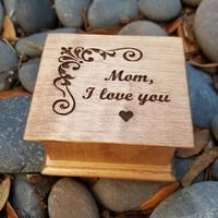 music box, custom music box, for mom, musicbox, personalized music box, gift for mom, Mother's day gift, mother of the bride gift, mom gift