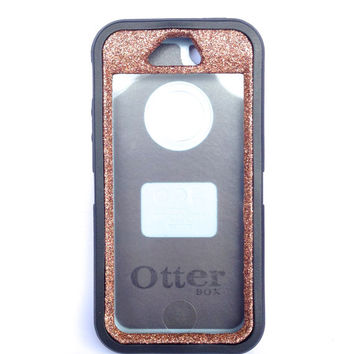 OtterBox Defender Series Case iPhone 5s Glitter Cute Sparkly Bling Defender Series Custom Case Black / Sunstone