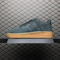 NIKE AIR FORCE 1 07 LV8 SUEDE GREEN