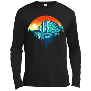 Amiable Yosemite Mountain Full Moon Rising 2017 T Shirt