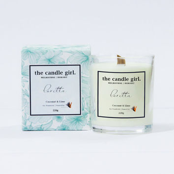 Loretta Candle ~ Coconut & Lime