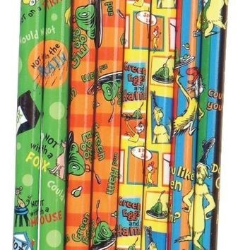 Dr. Seuss Green Eggs and Ham Pencil - CASE OF 144