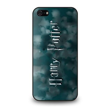 DEATHLY HALLOWS HARRY POTTER iPhone 5 / 5S / SE Case