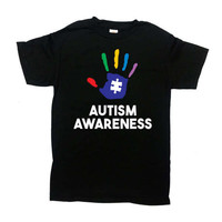 Autism Awareness Shirt Autistic T Shirt Support Gifts Puzzle Piece Advocate Spectrum Speaks World Autism Day Month Mens Ladies Tee - SA771