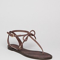 Burberry Flat Thong Sandals - Marlow | Bloomingdale's