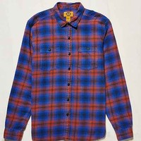 Stapleford Tucker Acid Flannel Button-Down Shirt