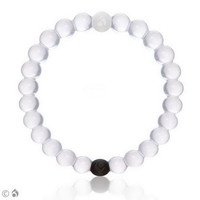 Lokai Bracelet for a balanced life (White)