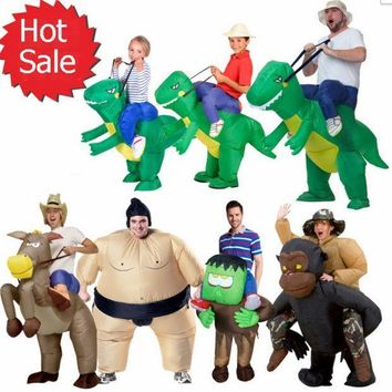 Halloween Inflatable Child Adult Costume Kids Party Dinosaur Unicorn Women Halloween Costume For Kids
