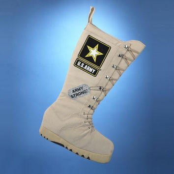 """"""" Army Strong """"  Christmas Stocking - Officially Licensed"""