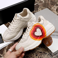 Gucci logo leather sneaker-3