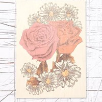 Daisy Rose Wooden Wall Art at Urban Outfitters